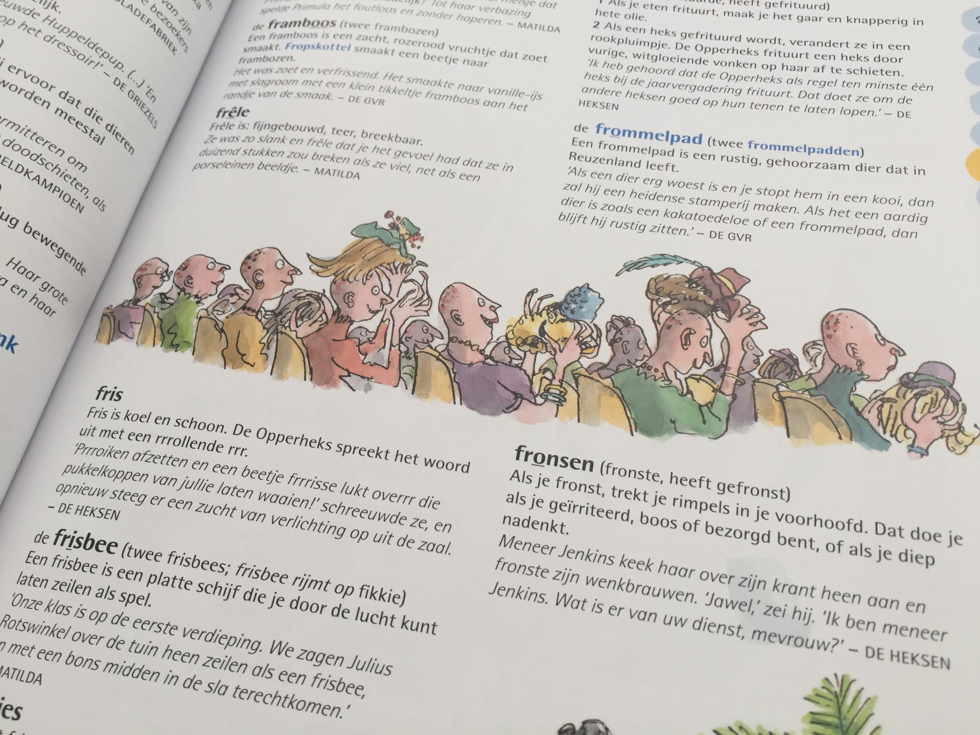 Recensie Roald Dahl woordenboek