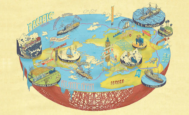 Plotted: A Literary Atlas - Andrew DeGraff