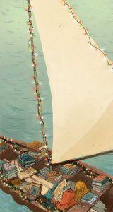 Boatload of books - Natalie Andrewson