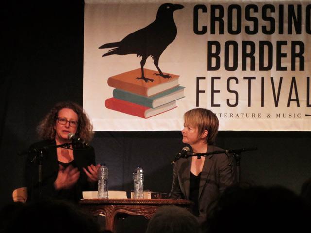 Crossing Border 2014 - Sarah Waters
