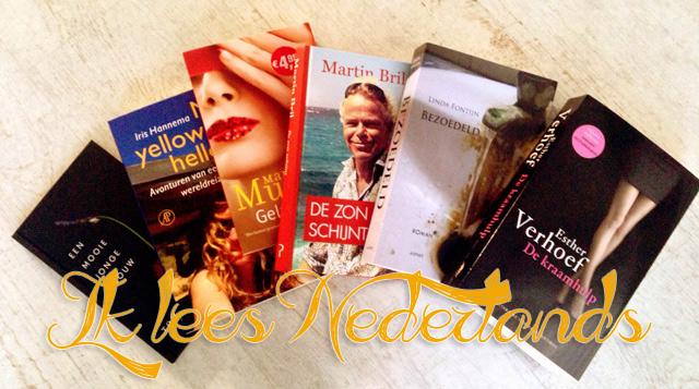 Een selectie van de boeken die ik tot nu toe las voor Ik lees Nederlands