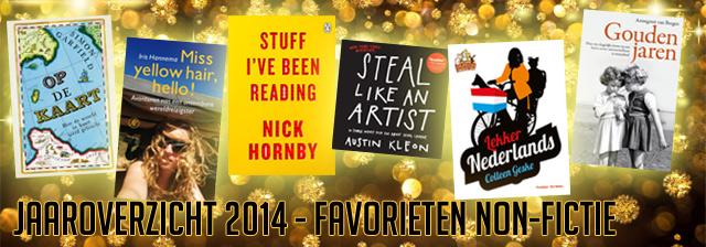 Jaaroverzicht 2014 Favoriete boeken non-fictie