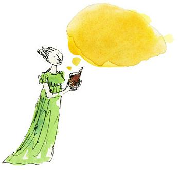 Jane Austen by Quentin Blake