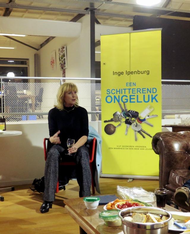 Meet and Greet Inge Ipenburg. Een schitterend ongeluk recensie