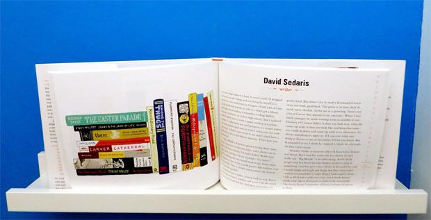 De Ideal bookshelf van schrijver David Sedaris