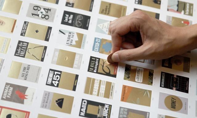 MirandaLeest - kraskaart met boeken van  Pop Chart Lab