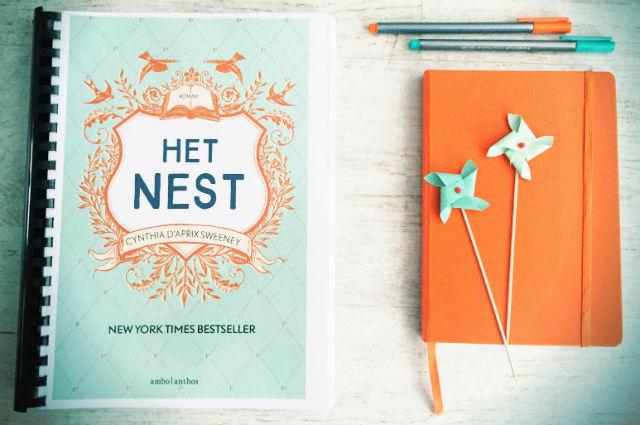 Recensie: Het Nest - Cynthia D'Aprix Sweeney MirandaLeest boekenblog
