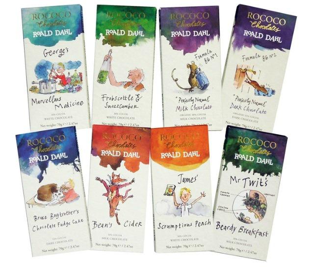 Roald Dahl chocolade
