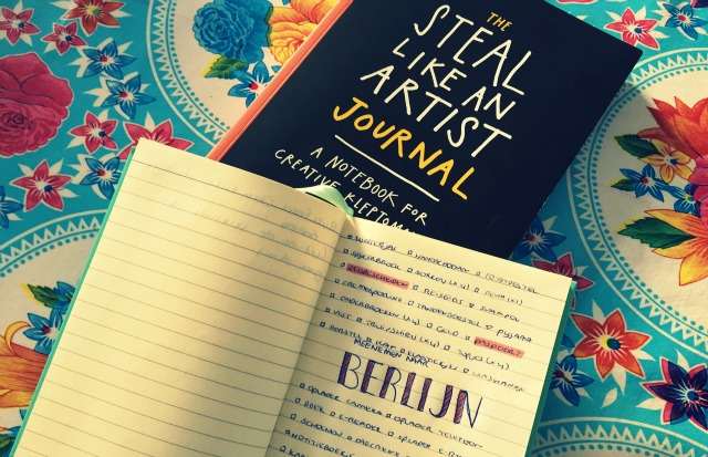 Recensie Steal Like an Artist Journal - Austin Kleon